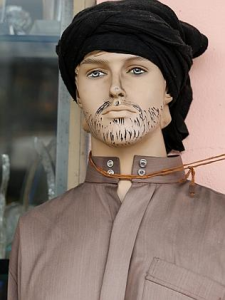Tim Blair seems more interesting in meeting Islamic Mannequins, than actual Islamic people.