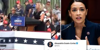 AOC Destroys Greene On Twitter With One Word: 'Taller'