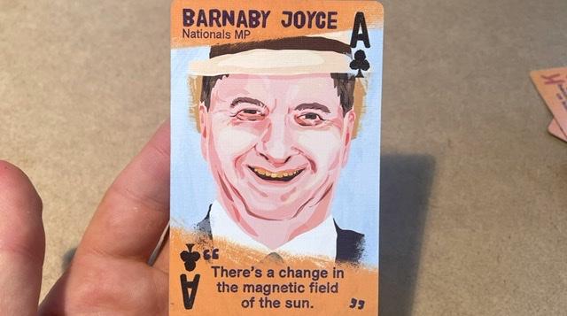 Barnaby Joyce is back