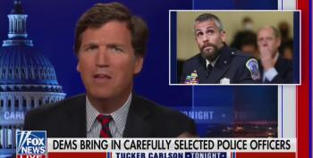 Sociopathic Tucker Ridicules Testimony By Capitol Hill Hero