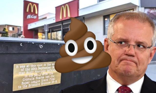 Australia's PM Says He Didn't Sh*t His Pants At McDonald's In 1997