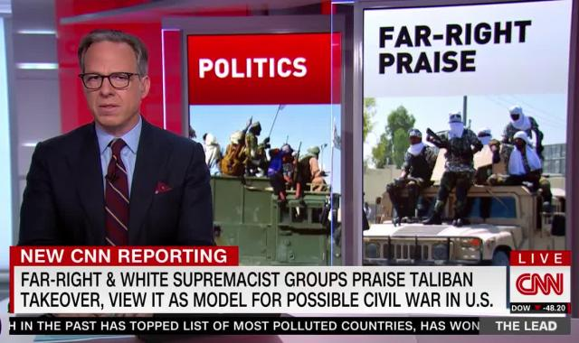 Right Wing Extremists Eye Taliban Takeover As Model For US Civil War