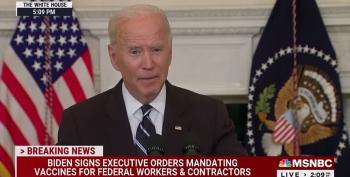 Biden: 'Even Fox News' Requires Vaccinations