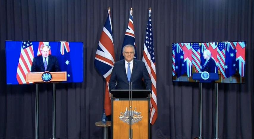 AUKUS, Prime Minister Scott Morrison, submarines