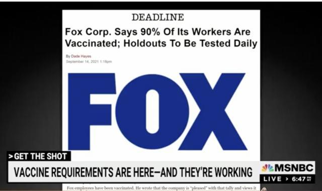 Fox News Has A Very Strict Vaccine Mandate
